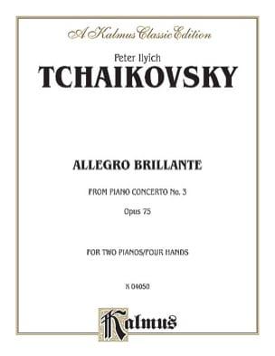 Allegro Brillante Du Concerto N°3. Op. 75. 2 Pianos laflutedepan