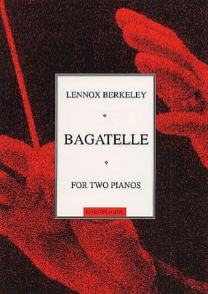 Bagatelle Op. 101a. 2 Pianos - Lennox Berkeley - laflutedepan.com