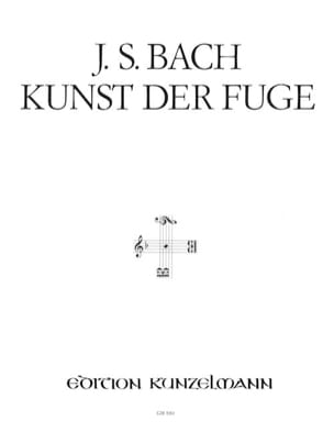 BACH - Kunst Der Fuge Bwv 1080. 2 Pianos - Partition - di-arezzo.fr