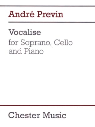André Prévin - Vocalise - Partition - di-arezzo.fr
