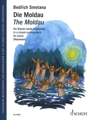 Die Moldau - Bedrich Smetana - Partition - Piano - laflutedepan.com
