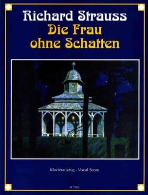 Die Frau Ohne Schatten Opus 65 Richard Strauss Partition laflutedepan