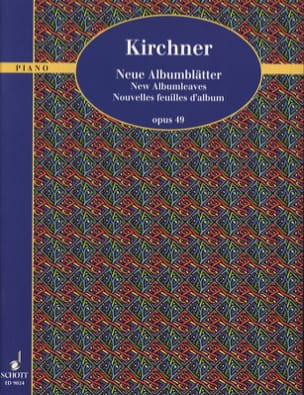 Theodor Kirchner - New Album Leaves Op. 49 - Sheet Music - di-arezzo.com