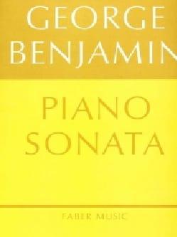 George Benjamin - sonata - Partitura - di-arezzo.it