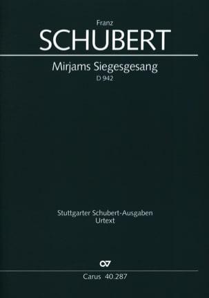 SCHUBERT - Mirjam's Siegesgesang D 942 - Sheet Music - di-arezzo.com