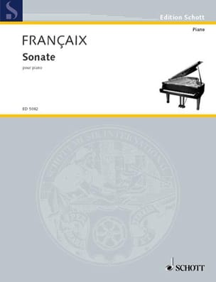 Jean Françaix - Sonata for Piano - Sheet Music - di-arezzo.com