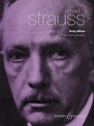 Richard Strauss - Song Album. Aloud - Sheet Music - di-arezzo.com