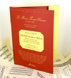 Nicolas de Grigny - Primer libro de órgano - Partitura - di-arezzo.es
