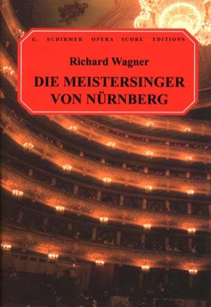 Richard Wagner - Die Meistersinger Von Nürnberg Wwv 96 - Sheet Music - di-arezzo.co.uk