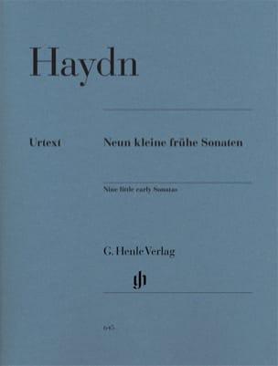 HAYDN - 9 Kleine Frühe Sonaten - Partitura - di-arezzo.es