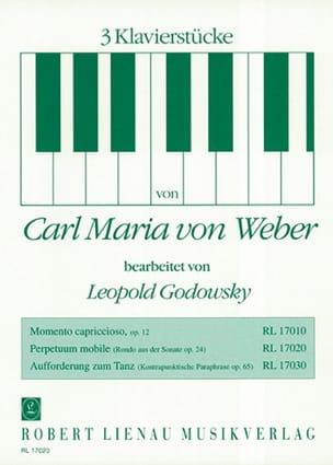 Weber / Godowsky - Mobile Perpetuum - Sheet Music - di-arezzo.co.uk