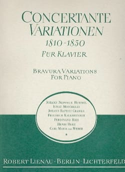 - Concertante Variationen 1810-1830 - Partition - di-arezzo.fr