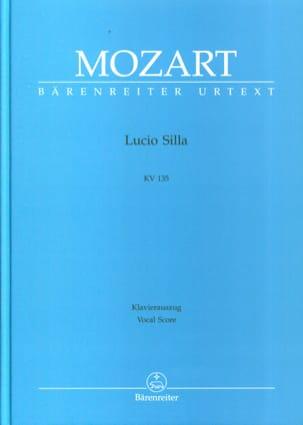 MOZART - Lucio Silla K 135 - Partitura - di-arezzo.es
