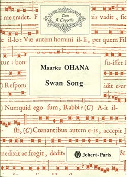 Maurice Ohana - Swan Song - Sheet Music - di-arezzo.co.uk