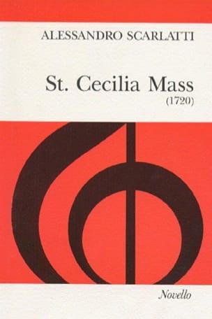 Alessandro Scarlatti - St. Cecilia Mass - Sheet Music - di-arezzo.com