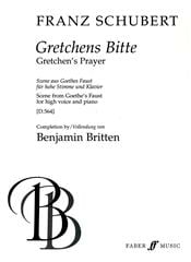 Franz Schubert - Gretchens Bitte D 564 - Partition - di-arezzo.fr
