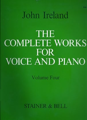 The Complete Works For Voice And Piano Volume 4 - laflutedepan.com