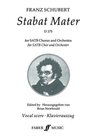 Stabat Mater En Sol mineur D 175 - SCHUBERT - laflutedepan.com