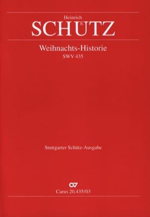Heinrich Schütz - Weihnachts-History Swv 435 - Sheet Music - di-arezzo.com
