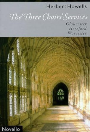 The 3 Choir's Services Herbert Howells Partition Chœur - laflutedepan