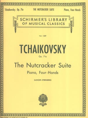 TCHAIKOWSKY - The Nutcracker Suite Opus 71a. 4 Hands - Sheet Music - di-arezzo.co.uk