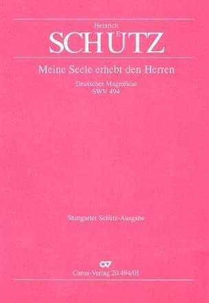 Deutsches Magnificat Swv 494 - Heinrich Schütz - laflutedepan.com