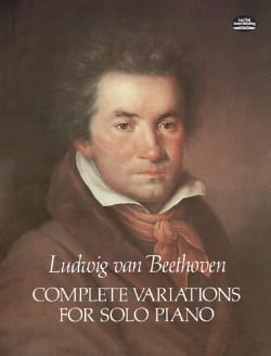 Complete Variations BEETHOVEN Partition Piano - laflutedepan