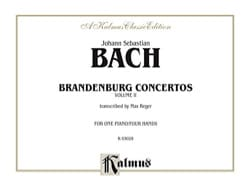 BACH - Brandenburg Concertos Volume 2. 4 Hands - Sheet Music - di-arezzo.com