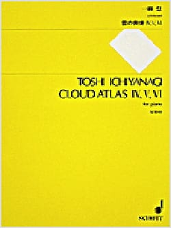 Cloud Atlas IV, V, VI Toshi Ichiyanagi Partition Piano - laflutedepan