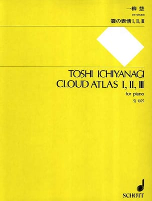 Cloud Atlas I, II, III Toshi Ichiyanagi Partition Piano - laflutedepan