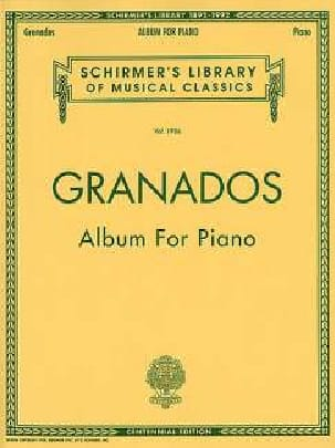 Album For Piano - GRANADOS - Partition - Piano - laflutedepan.com