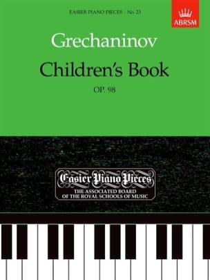 Children's Book Opus 98 - Alexander Gretchaninov - laflutedepan.com