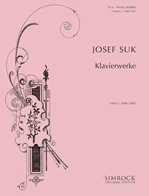 Piano Works Volume 1 Josef Suk Partition Piano - laflutedepan