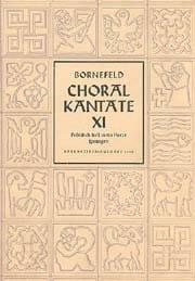 Choral Kantate Vi - Bornefeld - Partition - laflutedepan.com