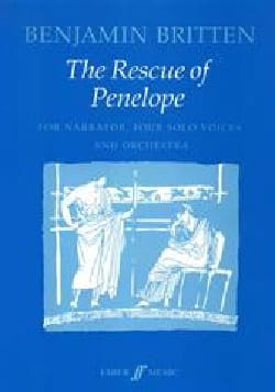 Benjamin Britten - The Rescue Of Penelope - Sheet Music - di-arezzo.com