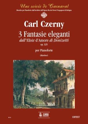 3 Fantaisies Elégantes Op. 325. sur l' Elisir D'amore - laflutedepan.com