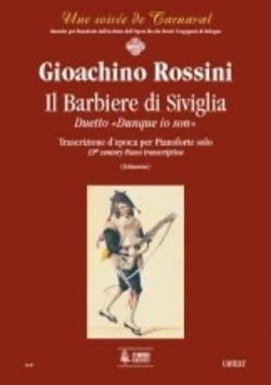 Il Barbiere Di Siviglia. Piano - ROSSINI - laflutedepan.com