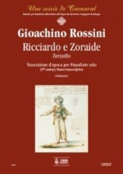 Gioachino Rossini - Ricciardo E Zoraide. Piano - Partition - di-arezzo.fr