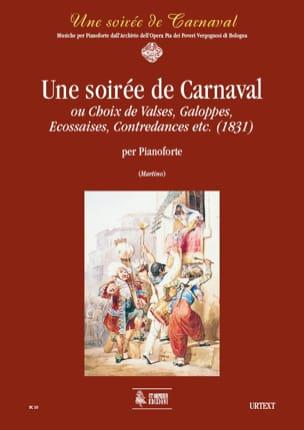 Une Soirée de Carnaval - Partition - Piano - laflutedepan.com