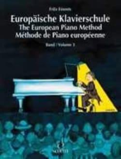 Méthode Européenne de Piano Volume 3 - Fritz Emonts - laflutedepan.com