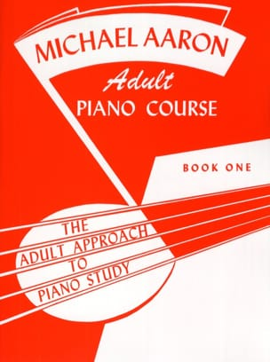 Adult Piano Course Book 1 AARON Partition Piano - laflutedepan