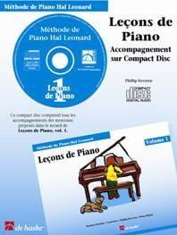 Kreader / Kern Jerome / Keveren - Piano Lessons Volume 1. Cd - Sheet Music - di-arezzo.co.uk