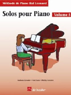 Kreader / Kern Jerome / Keveren - Solos For Piano Volume 5 - Sheet Music - di-arezzo.com