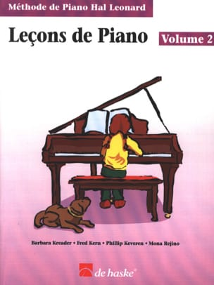 Kreader / Kern Jerome / Keveren / Rejino - Leçons de Piano Volume 2 - Partitura - di-arezzo.it