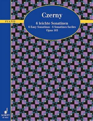 6 Sonatines Faciles Op. 163 CZERNY Partition Piano - laflutedepan