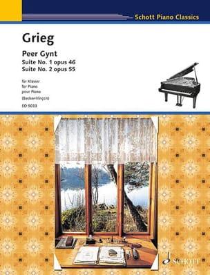 Edward Grieg - Peer Gynt. Suite 1 e 2 - Partitura - di-arezzo.it