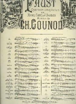 Air des Bijoux. Faust. Mezzo - Charles Gounod - laflutedepan.com
