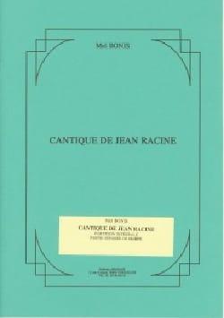 Cantique de Jean Racine Opus 145 Mel Bonis Partition laflutedepan