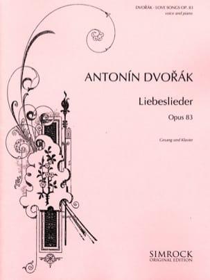 Liebeslieder Opus 83 DVORAK Partition Mélodies - laflutedepan