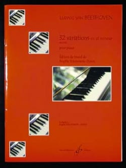 BEETHOVEN - 32 Variations En Ut Mineur Wo0 80 - Partition - di-arezzo.fr